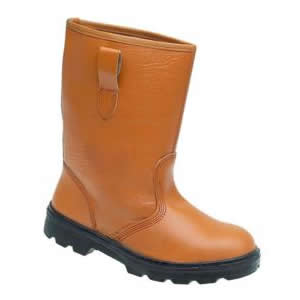 9001 Tan Unlined S1P Rigger Boot